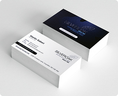 Business card sticker printing services aladdinprint 20pt 16pt business card reheart Gallery