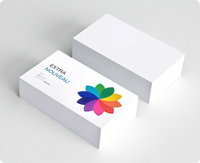 Business card sticker printing services aladdinprint raised ink business card reheart Choice Image