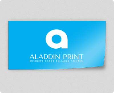 Business card sticker printing services aladdinprint rectangle sticker reheart Choice Image