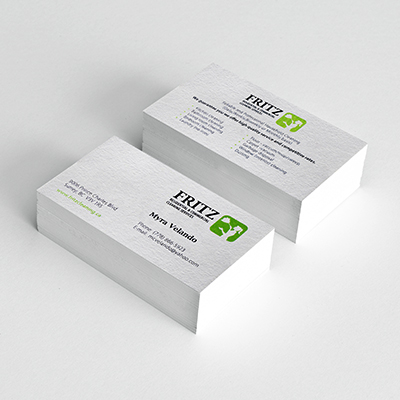 Blind Embossed Business Cards
