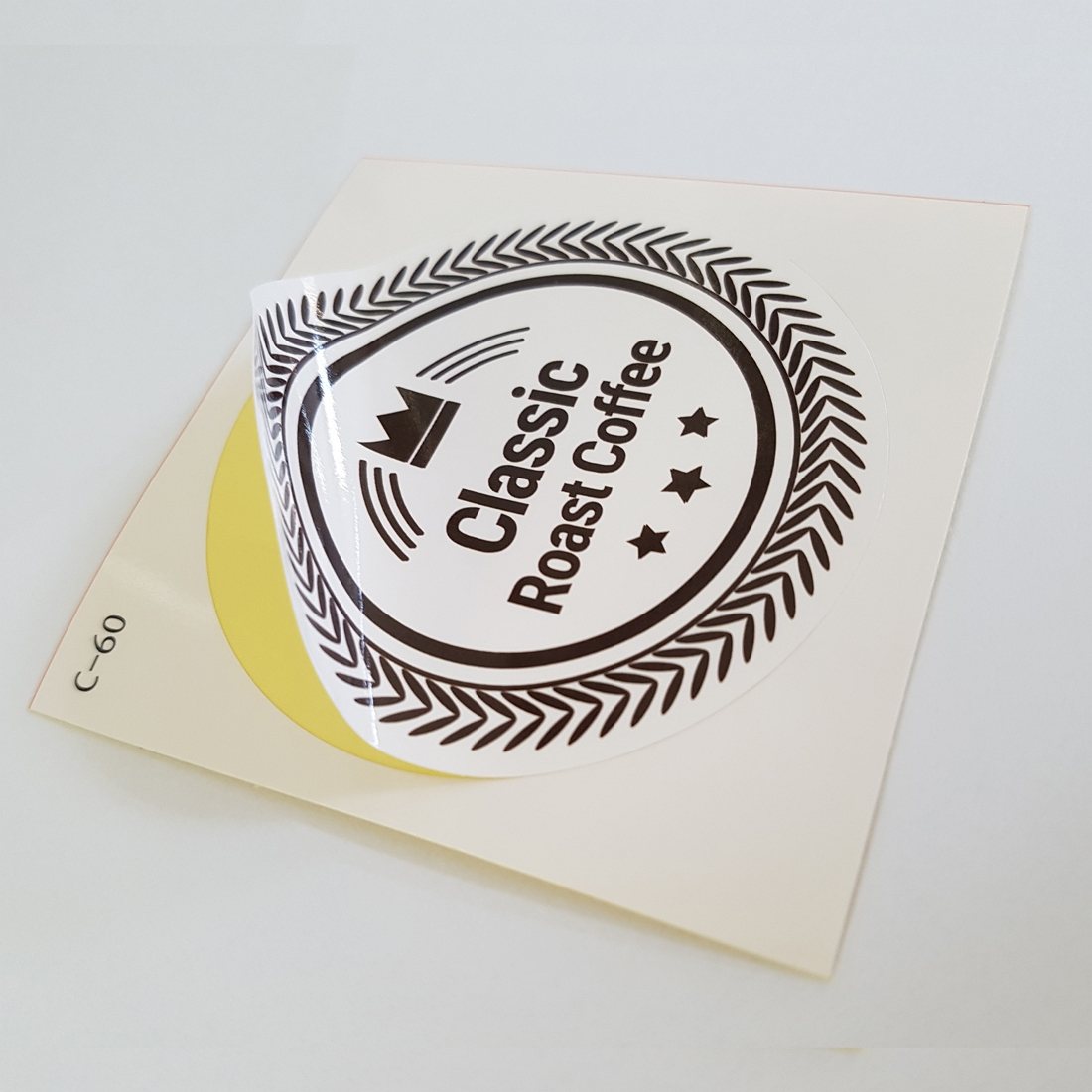 CUT STICKER 2 X QTY 120 X 15 MM CASH ONLY CHOICE OF COLOURS