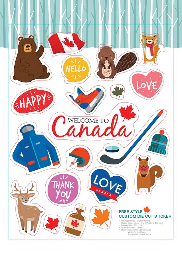 Business Card & Sticker Printing Services | Aladdinprint.com