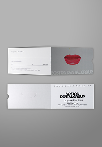 Custom landscape folded business cards aladdinprint features landscape folded business cards reheart Image collections