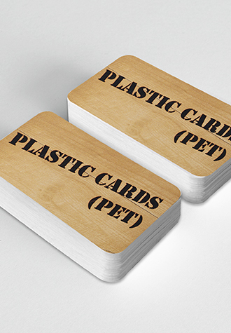Plastic Business Card (Thin PET Material)