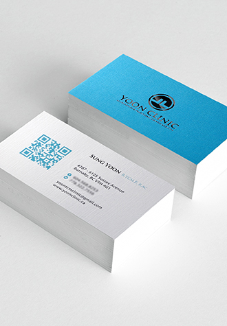 extra linen business card - Linen Business Cards